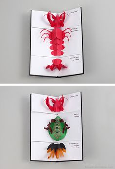 Carnaval Animal Pop-Up - Moon Picnic Kirigami, Up Book, Book Art, Paper Design, Book Design, Arte Pop Up, Paper Pop, Origami Paper Art, Paper Engineering