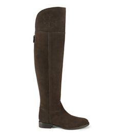 5798729cf22a7 New Women s Designer Shoes for Winter. Martini Tory Burch Brittania Sandal.  See more. Tory Burch Simone Over-the-knee Suede Boot Suede Boots