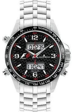 3797c71f481  Jacques lemans sport  formula 1 f1 stainless steel men s watch  f-5009b