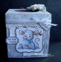 cardstock tissue box cover