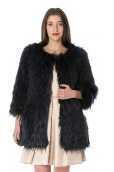 Lashez® is Romania's first truly independent fast fashion retailer targeting young, hip European females aged years old. Fur Coat, Fashion, Moda, Fashion Styles, Fashion Illustrations, Fur Coats, Fur Collar Coat