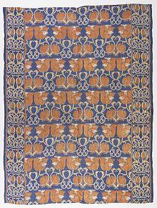 Charles Voysey  Couverture de lit, 1888