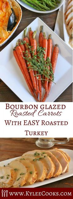 VIDEO IN POST!! An easy solution to holiday cooking!! Jennie-O Oven Ready Turkey, delicious Bourbon Glazed Roasted Carrots, a video AND a giveaway! [ad] #JennieOHoliday #jennieo #OvenReady http://ooh.li/6604fee