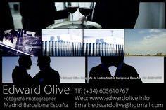 Fotografos para bodas Madrid Edward Olive ¿Cuanto cuesta? : Edward Olive  info@edwardolive.com    605 610 767  Su trabajo especializado en bodas, plasma de una forma diferente, fresca y natural uno de los días más importantes en nuestras vidas, y que perdurará por siempre en el maravilloso recuerdo de unas fotografías mágicas.  Precio calidad inigualable. La tranquilidad de contratar al mejor fotógrafo, por un precio totalmente asequible.  Para ver su t