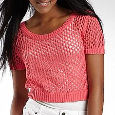 Crop Sweater at @jcpenney