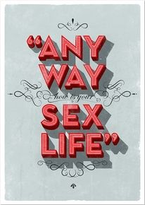 ANY WAY, HOW IS YOUR SEX LIFE?  Bropix - Online Portfolio of Dirk Schuster - Art Direction, Illustration — Designspiration