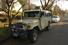 1966 Toyota Land Cruiser HJ45 Diesel Troop