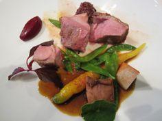 Duck dish at L'Astrance lunch - Paris Lunch Splurges: Saving Money on Michelin Starred Restaurants in Paris