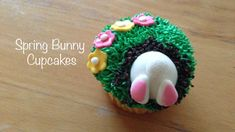 How to Make Easy Spring Bunny Cupcakes | paolajem92