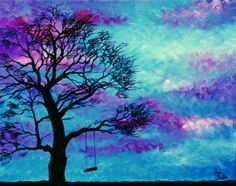 Swaying in the Wind Original Painting