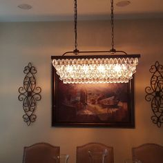 June 4-Light Kitchen Island Pendant & Reviews | Joss & Main Rectangle Chandelier, June 4th, Island Pendants, Joss And Main, Kitchen Lighting, Kitchen Island, Ceiling Lights, Home Decor, Island Kitchen