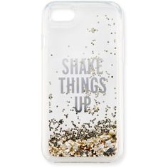 Kate Spade New York shake things up iPhone 7 case (€43) ❤ liked on Polyvore featuring accessories, tech accessories, phone cases, tech and kate spade