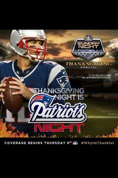 Pats/Jets - Thanksgiving Night BOO YEAH!!