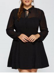SHARE & Get it FREE   Long Sleeve Mesh Yarn Insert DressFor Fashion Lovers only:80,000+ Items • New Arrivals Daily • Affordable Casual to Chic for Every Occasion Join Sammydress: Get YOUR $50 NOW!