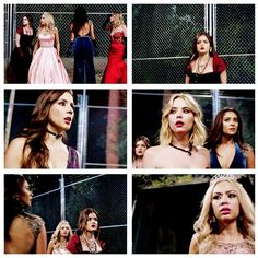 The girls are trApped #PLLFinale #BigAReveal