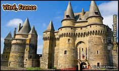 Top 25 Medieval Cities In Europe, Vitre France