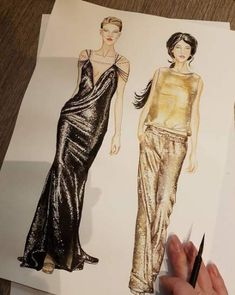 48 Ideas fashion design sketches inspiration haute couture for 2019 - 48 Ideas fashion design sketches inspiration haute couture for 2019 - Arte Fashion, Fashion Week, Couture Fashion, Trendy Fashion, Fashion Models, Couture Style, Runway Fashion, Style Fashion, Fashion Design Sketchbook
