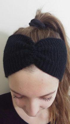 Turban Headband women Head Wrap Twisted Headband knit headband (10.00 EUR) by braidedtheworld