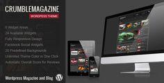 Crumble - Responsive Wordpress Magazine / Blog - ThemeForest Item for Sale