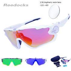 1.56 Aspheric Optical Lenses Men Women Cycling Glasses Polarized Bike Prescription Eyewear Outdoor Sports Bicycle Sunglasses