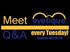 Meet Eyetique is back! Every week we will feature a member of our great staff! We'll ask them the most creative and unique questions we can think of. So join us every Tuesday and get to know the Eyetique family! #TeamTuesday #Eyetique #vlog #fashion #men #women #optician #optical #Pittsburgh #family