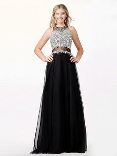 41bcfdfe0 A-Line Princess Scoop Sleeveless Beading Floor-Length Chiffon Dresses