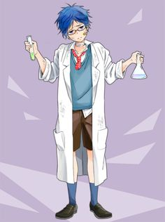 Free! - Rei : Little Scientist