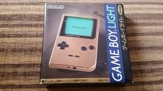 NINTENDO GAME BOY LIGHT GOLD