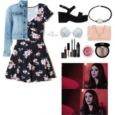 A fashion look from March 2017 featuring Hollister Co. dresses, Yves Saint Laurent jackets and Boohoo. Browse and shop related looks.