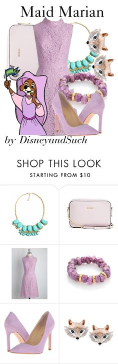 """Maid Marian"" by disneyandsuch ❤ liked on Polyvore featuring GUESS, Adrianna Papell, Nest, Ivanka Trump, Ross-Simons, disney, disneybound, robinhood and WhereIsMySuperSuit"