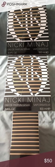 Nicki Minaj parfum spray 3.4 fl oz Hello you will receive same item as seen in photos 1 Nicki Minaj parfum spray 3.4 fl oz brand new never open sealed. Order nm3 Nicki Minaj  Other