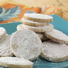 Pastelitos De Boda Recipe from Taste of Home -- shared by Terri Lins of San Diego, California