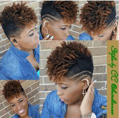 Dope Tapered Cut & Curls Source: hairdivacc  #naturalhairmag