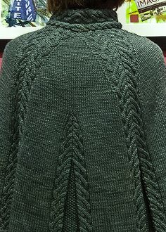 Ravelry: sarahm96s Burnham Wood Cape