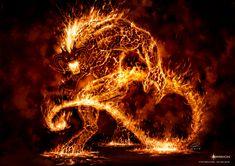 Lava Demon by Akerion