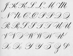 Calligraphy - Engraver's Script Zenarian Roundhand