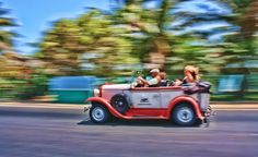 A taxi in Cuba.