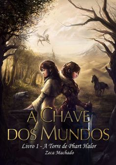 A book cover I did a month ago. You can buy it here (in portuguese): [link] A Chave dos Mundos Red Books, I Love Books, Books To Read, Wattpad Book Covers, Wattpad Books, Book Club Books, Book Lists, Forever Book, Best Book Covers