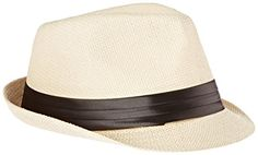 46bbd11c435104 Simplicity Men / Women's Summer Vintage Straw Fedora Hat at Amazon Women's Clothing  store: Shower Caps