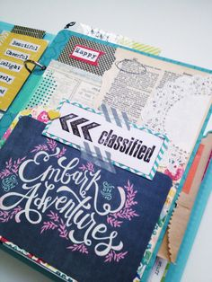 2014 Project Life Journal- Becky Higgins 6x8 album | tab divider page