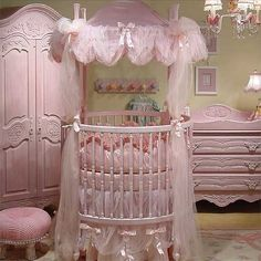 If I would have ever had a little girl, this is what her room would look like. Absolutely adorable