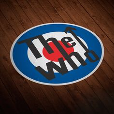 Pegatinas: The Who logo #londres #decoración #vinilo #TeleAdhesivo