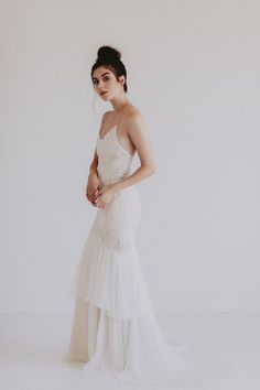 Discover A Unique Selection Of Wedding Dresses, Non Traditional & Painted Gowns. Wedding Skirt, Colored Wedding Dresses, Here Comes The Bride, Blue Wedding, Beautiful Dresses, Hair Makeup, Dresses With Sleeves, Gowns, Bridal
