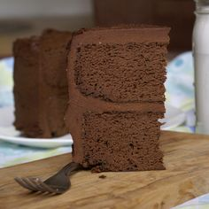 Flourless Chocolate Cake (with a secret ingredient!)