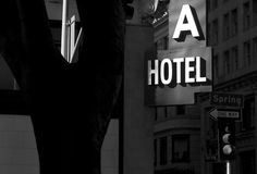 A Hotel, Los Angeles, CA - 2010, copyright © Peter Welch, all rights reserved