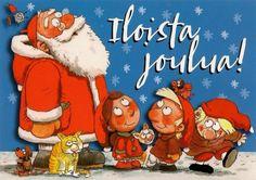 Художник-иллюстратор и писатель Mauri Kunnas (146 работ) Christmas Books, Christmas Cards, Grinch, Ronald Mcdonald, Literature, Children, Fictional Characters, Google, Art