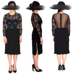 #vilvin #lace #lover #handembroidery #crepe #dress #open the side invisible zippers, wear it with #legging/chudidar and convert it into a #Indio-Western