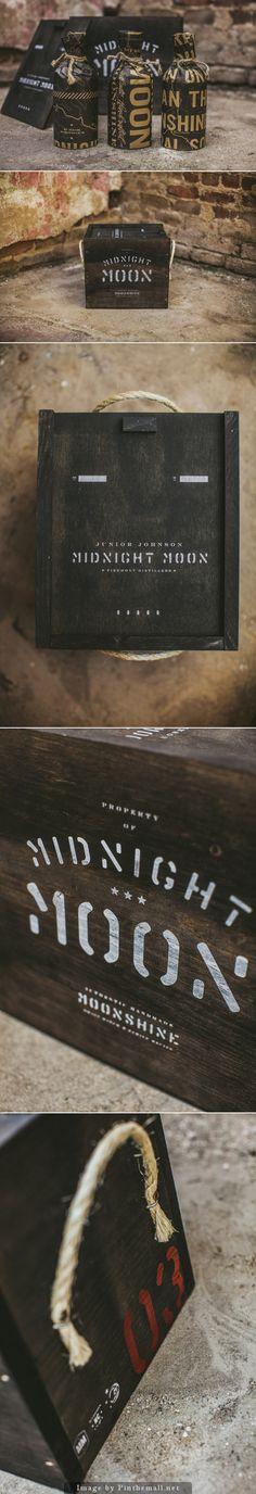 #packaging - Moonshine branding