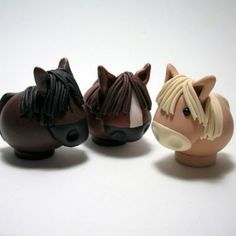... polymer clay beasties , including