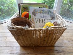 Calm down basket--- full of ideas in this article for discipline and calming down